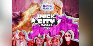 Póster oficial del evento Rock City Masaya