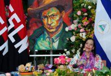 Vicepresidenta de Nicaragua, Rosario Murillo, durante el Congreso Sandinista Nacional / FOTO / ccc César Pérez