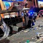 Brutal explosión de un autobús deja 14 personas heridas en Vorónezh, Rusia
