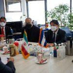 Delegación de Nicaragua se reunió con el viceministro de salud de Irán