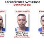 Policía en Matagalpa captura a 10 personas