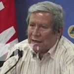 Conferencia de prensa desde el SINAPRED por fenómeno meteorológico en el Caribe de Nicaragua