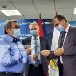 Científico ruso en un encuentro con el SINAPRED en Nicaragua