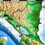 Imagen de un sismo ocurrido en Managua, Nicaragua