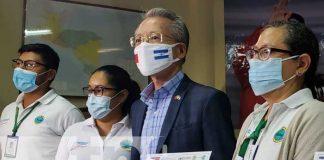 Embajador de Taiwán en acto sobre capacitación en alerta temprana de inundaciones