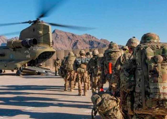 EjércitTropas de EE.UU. saliendo de Afganistáno de Estados Unidos salien de
