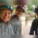 Tres hermanos se toman una selfie justo cuando los golpea un rayo