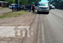 Detienen en Tipitapa a sujetos que se disfrazaban de Policía para robar / FOTO / TN8