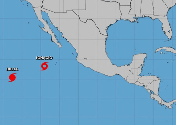 Foto: Se forma tormenta Ignacio en el Pacífico / Referencia