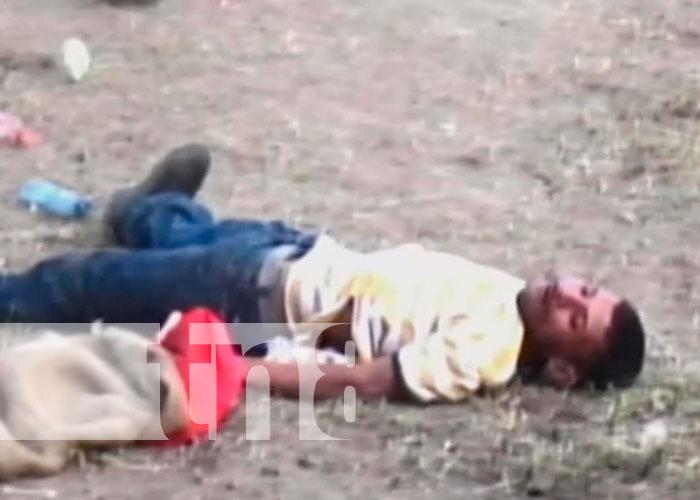 Hombre resulta herido por toro en Chontales