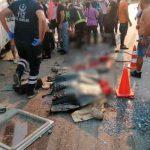 Vuelco de autobús en Turquía deja tres muerto y cinco heridos