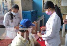 Jornada para aplicación de la segunda dosis de vacuna Sputnik V en Nandaime