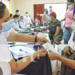 Jornada de aplicación de vacuna contra el COVID-19 en Ocotal