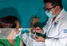 Jornada de vacunación contra el COVID-19 en Tipitapa