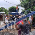 Materiales para nuevas viviendas dignas en San Marcos, Carazo