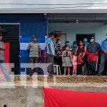 5 viviendas fueron entregadas a familias humildes