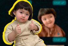 Por qué no deberías compartir los stickers de Rohe, la niña viral en WhatsApp