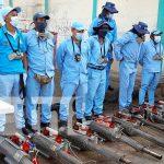 Fumigación contra los zancudos en barrios de Managua
