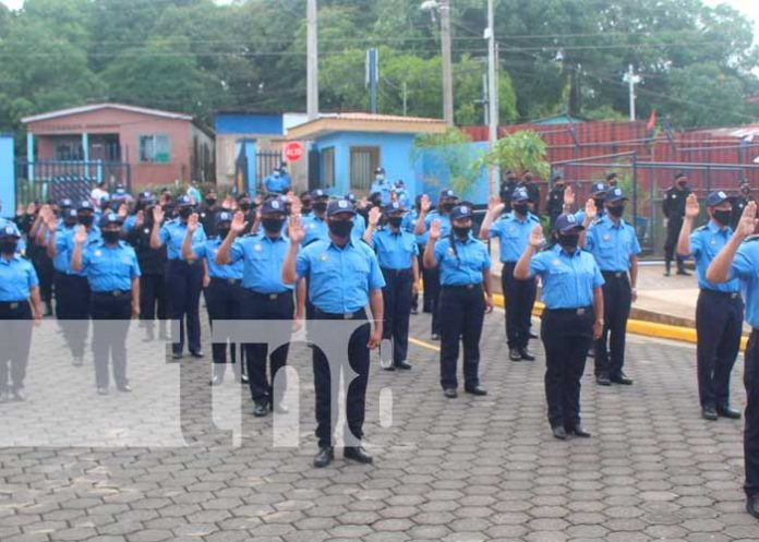 nicaragua, bluefields, policia,