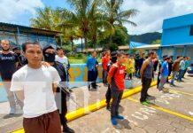 Combate a la delincuencia en Jinotega resulta en 26 delincuentes presos