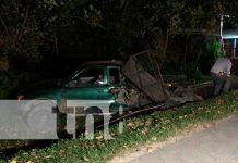 Conductor provoca accidente y se da a la fuga en Jalapa