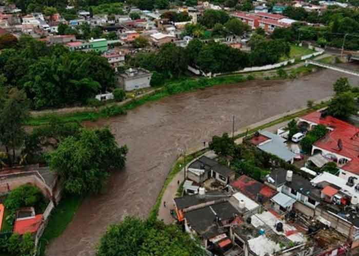 En México no para de llover y varios estados siguen hoy en alerta ante posibles inundaciones