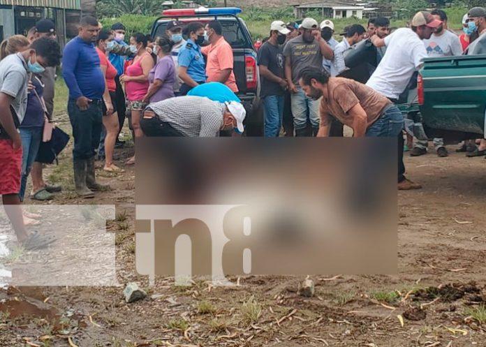 Encuentran sin vida a hombre frente a la Barrera Municipal de la Libertad, Chontales