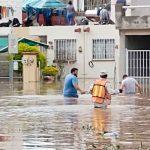 Inundaciones y ríos desbordados, lluvias afectan estados de México