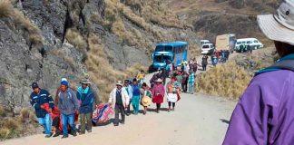 Al menos 23 fallecidos en accidente de autobús en Bolivia