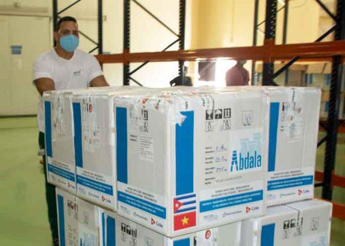 Cuba envía primer lote de su vacuna anticovid Abdala a Vietnam