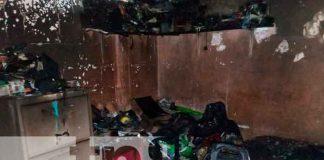 Incendio en el barrio Bóer deja perdidas de más de 100 mil córdobas