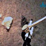 Hallan fragmentos exóticos en rocas lunares traídas por la misión Chang'e-5