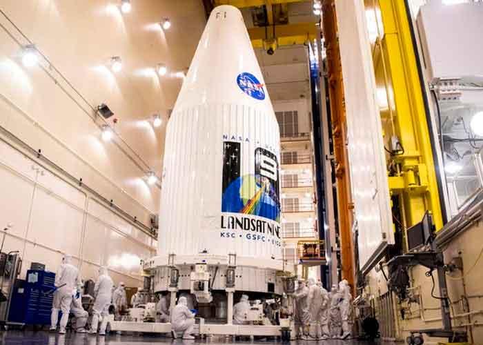 El satélite Landsat 9 despegará el lunes 27 de septiembre