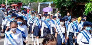 Celebran fiestas patrias bicentenarias en San Carlos, Río San Juan