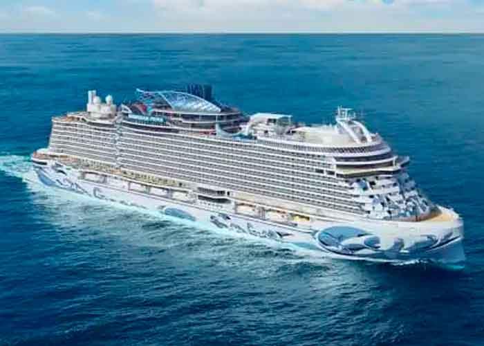 Foto: Una representación del Norwegian Prima, que zarpará en 2022. | Crédito: Norwegian Cruise Line