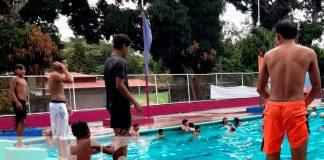 Nicaragüenses inician periodo de vacaciones, disfrutando en Xilonem