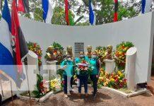 Conmemoran 48 años de los héroes de Nandaime