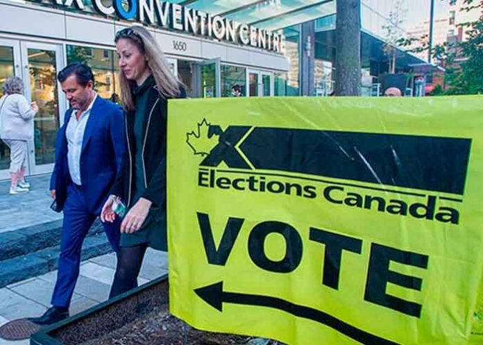 Canadienses acuden a las urnas para elegir a nuevo Gobierno