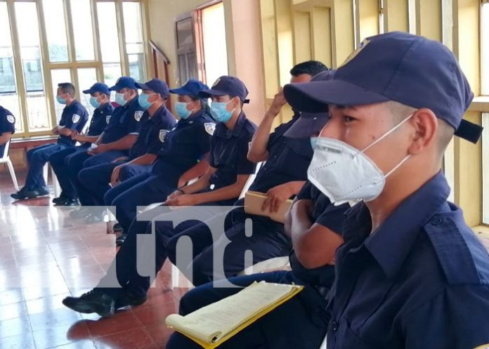 Bomberos de Nandaime y Carazo participan en capacitación