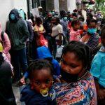 Albergues en México saturados por migrantes haitianos.