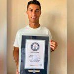 Cristiano Ronaldo logra el récord Guinness de máximo goleador de selecciones