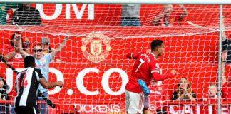 Cristiano Ronaldo marca para el United en su regreso a Old Trafford