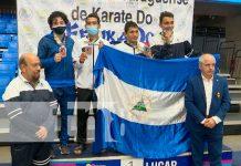Nicaragua gana medalla de oro en el Campeonato Iberoamericano de Karate Do