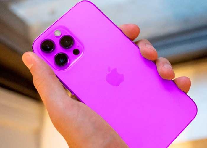 El nuevo teléfono iPhone 13 de la multinacional tecnológica sería presentado en sociedad.
