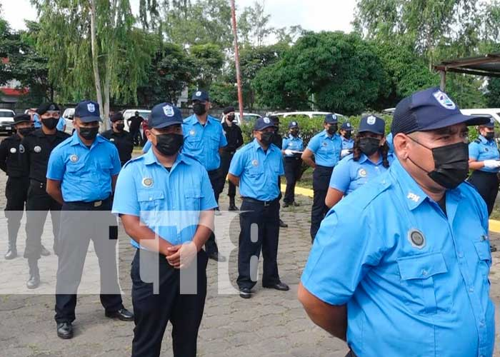nicaragua, esteli, policia nacional,