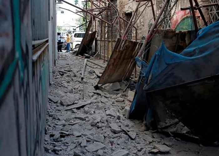 Un muerto y nueve heridos tras un fuerte sismo en la isla griega de Creta    TN8.tv Nicaragua