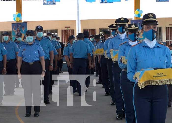 nicaragua, leon, policia nacional,