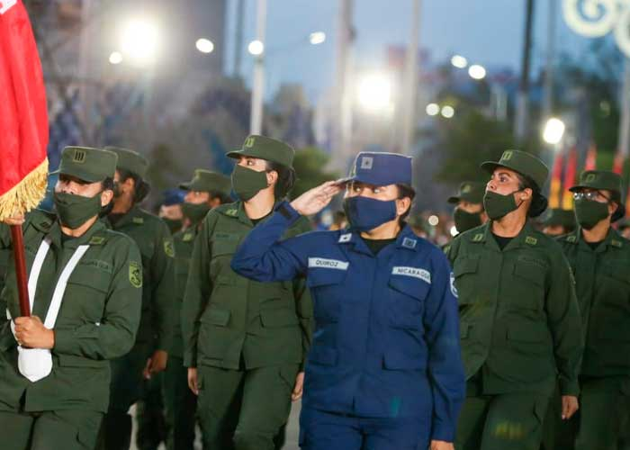 nicaragua, desfile militar, ejercito de nicaragua,