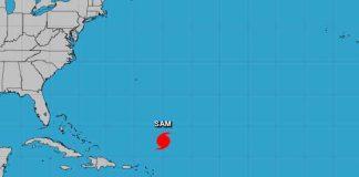 El huracán Sam y la tormenta Víctor se fortalecen en el Atlántico