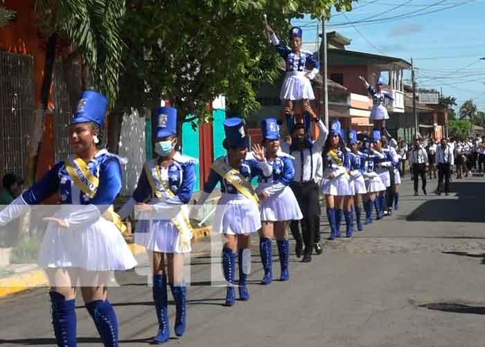 Desfile patrio en Ometepe en honor al 14 de septiembre, Batalla de San Jacinto